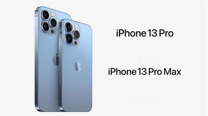 iPhone 13 Pro Max dan iPhone 13 Pro