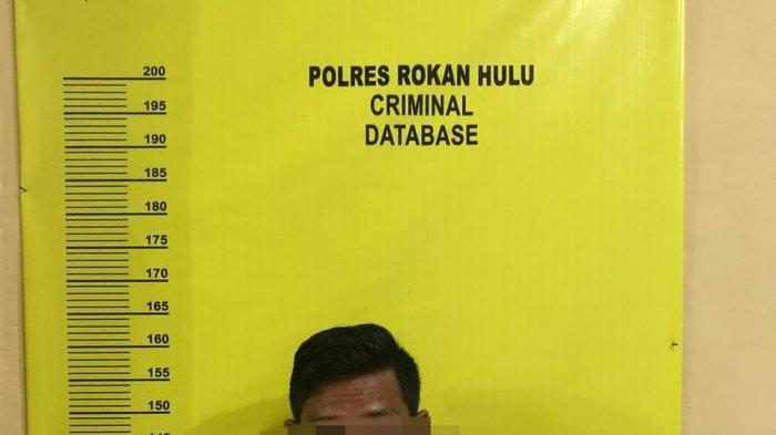Simpan Lima Paket Sabu-sabu, Pemuda di Rohul Riau Diciduk Polisi Saat Berdiri di Pinggir Jalan