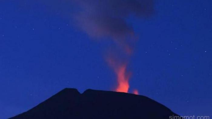 PVMBG: Hari Ini Gunung Slamet Kembali Meletus 8 Kali