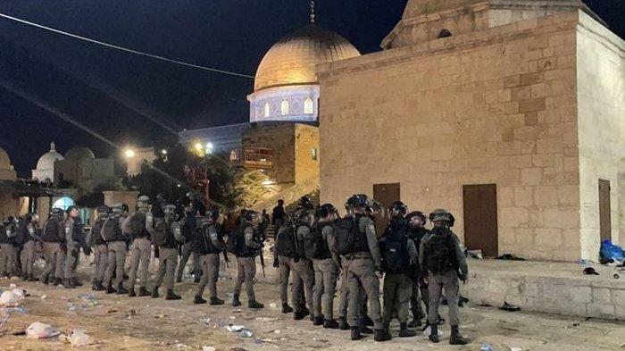Timur Tengah Memanas: Hamas Tembak Puluhan Roket ke Yerusalem, Israel Bombardir Jalur Gaza