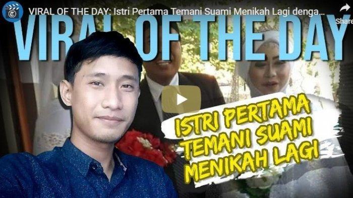 VIDEO DETIK-DETIK Istri Pertama Temani Suami Menikah Lagi