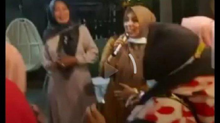 HEBOH, Abaikan Prokes, Viral Video Istri Wali Kota Bima Joget dengan Sejumlah Wanita di Pesta Ultah