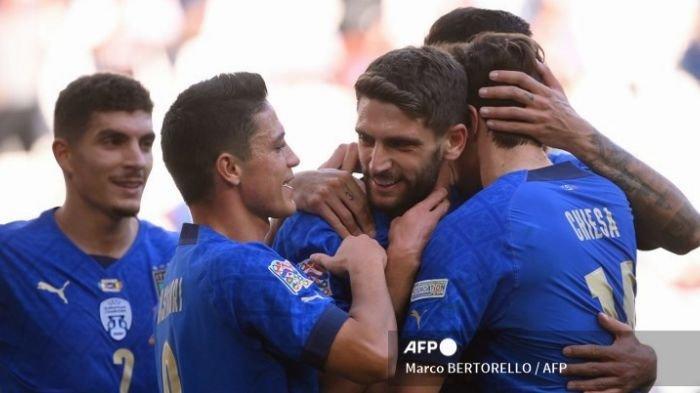 Italia Juara Tiga UEFA Nations, Hancurkan Belgia di Babak Kedua, Ulangi Kemenangan di EURO 2021