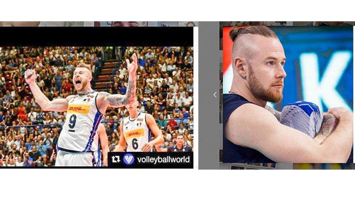 VIRAL Tiktok: SOSOK Pemain Voli Italia, Ivan Zaystsev, berasal dari Keluarga Atlet