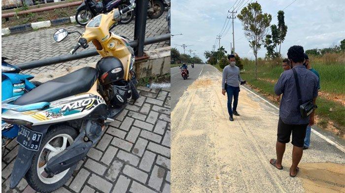 Jambret Sadis Beraksi di Jalan Naga Sakti Pekanbaru, Korbannya Seorang IRT Meninggal Dunia
