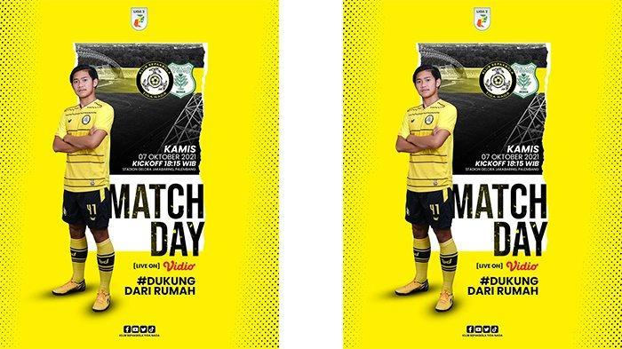 Jadwal Liga 2 2021 Sore Ini, KS Tiga Naga vs PSMS Medan, Kick Off Siaran Langsung Pukul 18.15 WIB