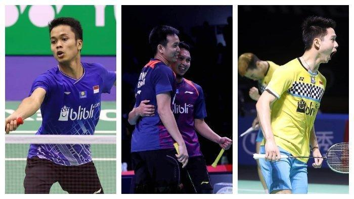 Streaming & LIVE Score BWF World Tour Finals 2019, Anthony Ginting, Marcus/Kevin, Ahsan/Hendra