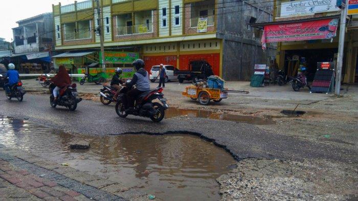 Jalan Rusak Makin Banyak di Pekanbaru, Legislator Minta Diperbaiki Jangan Tunggu Warga Jadi Korban