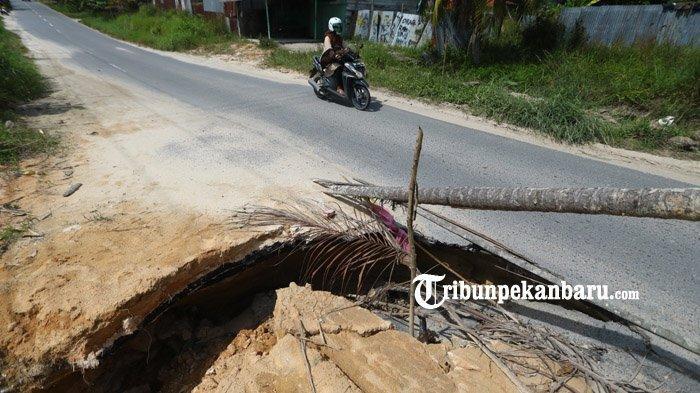 BERITA FOTO: Kondisi Jalan Rusak di Palas Pekanbaru Bahayakan Pengendara - jalan-rusak-palas2.jpg