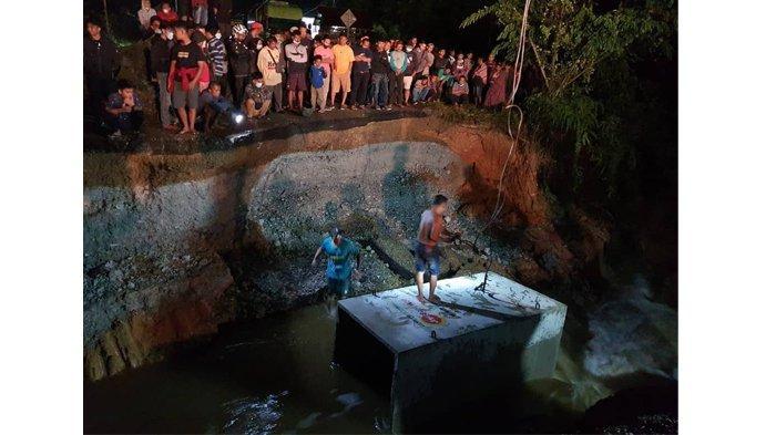 Jalan Lintas Sumbar-Riau di Tanjung Pauh Pangkalan Putus, Sudah Dilakukan Pemasangan Box Culvert