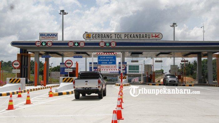 Sampai Pintu Tol Dumai Dipaksa Putar Balik,Segini Kendaraan yang Dihalau,Terbanyak di Penyekatan Ini