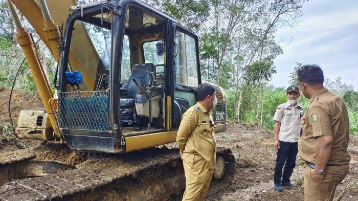 Jalan Amblas di Kuansing, Pemkab Kuansing Gesa Buat Jalan Alternatif