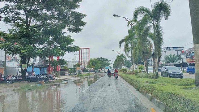 Tiga Hari Dilanda Hujan Deras, Begini Kondisi Sungai Besar di Pelalawan, Apa Kata BPBD Soal Banjir?