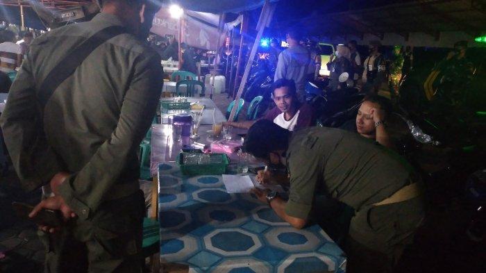 Jam Malam di Kuansing, Petugas Datang, Kerumuman Warga pun Bubar