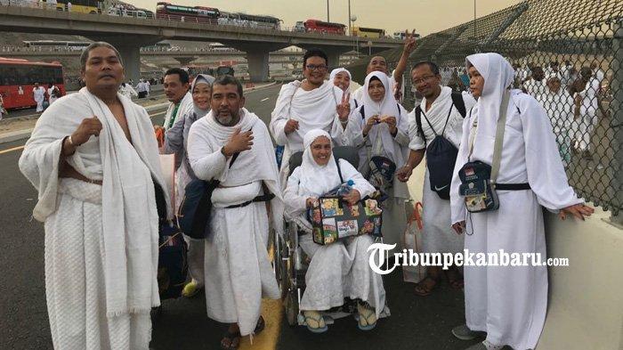 Satu Orang Meninggal Dunia, Hari Ini 447 Jamaah Haji Asal Pekanbaru Tiba di Batam