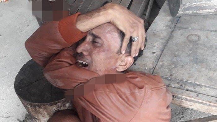 Diteriaki Warga Bakar Hidup-hidup, Johan Nangis Minta Ampun, Biasanya Garang Kini Menciut