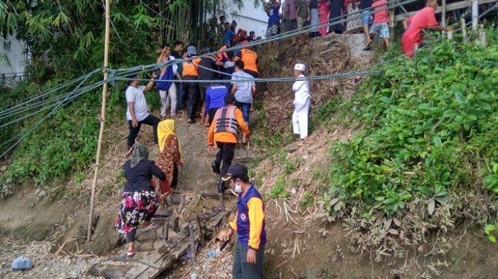 Jasad Remaja yang Tenggelam di Desa Ranah Kampar Ditemukan Siang Tadi