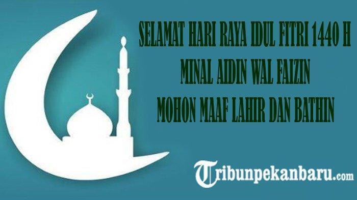 Kumpulan Ucapan Hari Raya Idul Fitri 1440 H Bahasa Inggris Lengkap dengan Gambar dan Artinya