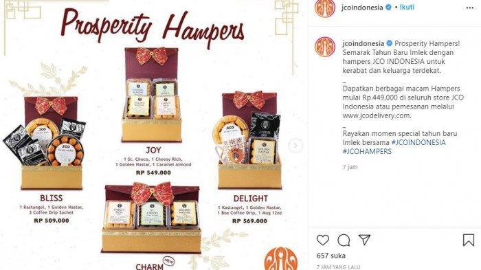 JCO Prosperity Hampers, Semarak Tahun Baru Imlek.