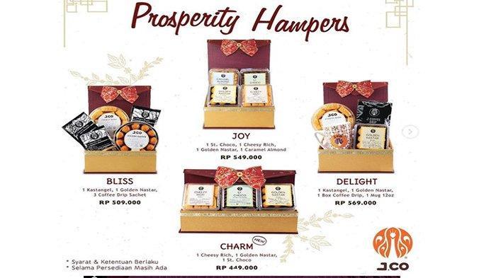 Promo JCO Jelang Perayaan Imlek, JCO Prosperity Hampers, Semarak Tahun Baru Imlek