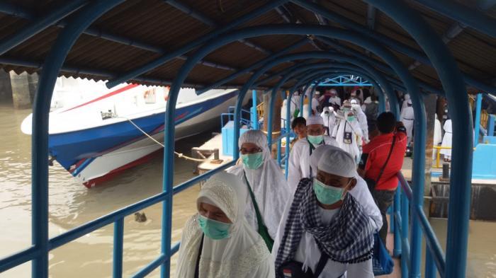 Antisipasi Masuknya Virus Corona ke Riau, Pintu Masuk Pelabuhan Penumpang di Dumai Diperketat