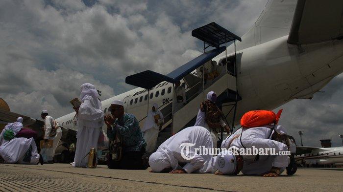 Ini Jadwal Kepulangan Jemaah Haji Asal Kampar