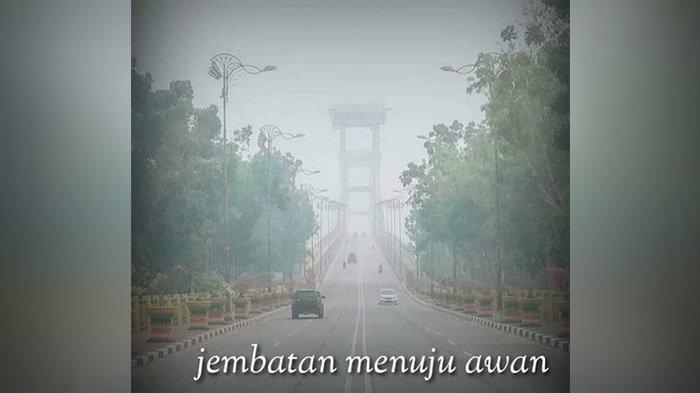 Viral Istilah Tour de Asap di Medsos Anak Muda Siak Riau, Tokoh Pemuda: Jembatan Menuju Langit