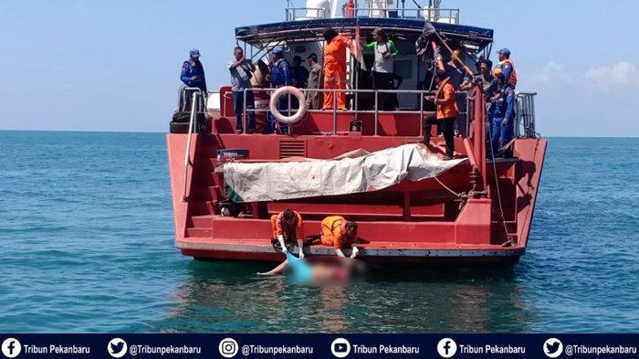 JENAZAH Korban Kapal TKI Ilegal Karam di Perairan Riau Ditemukan Terapung di Perairan Rupat Utara