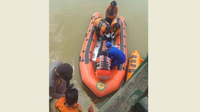 Jenazah Pekerja yang Tenggelam di Sungai Kampar Pelalawan Ditemukan, Terapung 1 Km ke Hilir