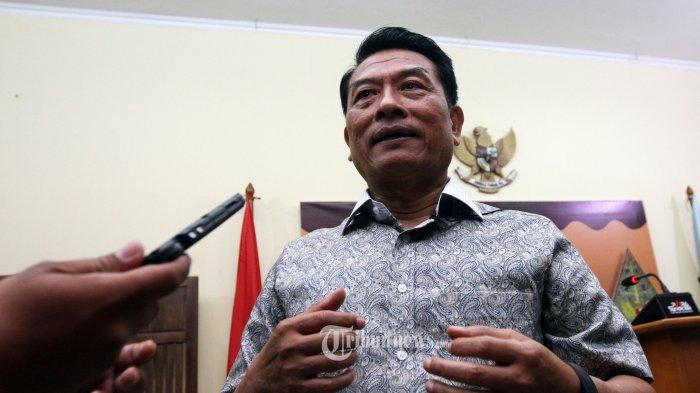 Moeldoko Berharap Pertemuan Jokowi dengan Prabowo Berlangsung Sebelum Putusan MK