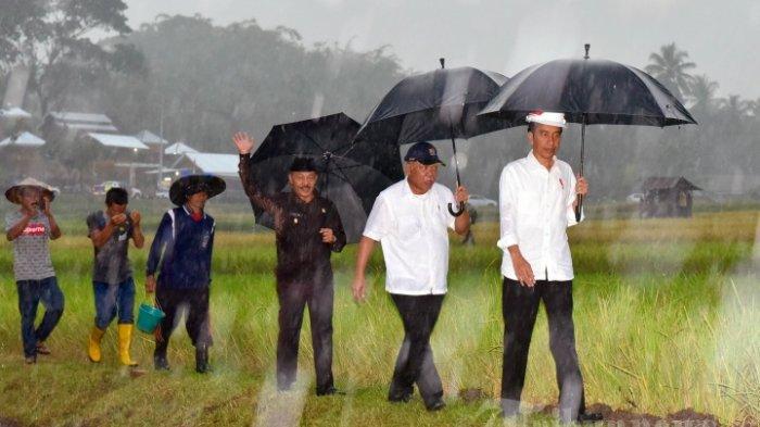 Hadiri Puncak HPN 2018 di Padang, Jokowi Kunjungi Desa Terindah di Dunia