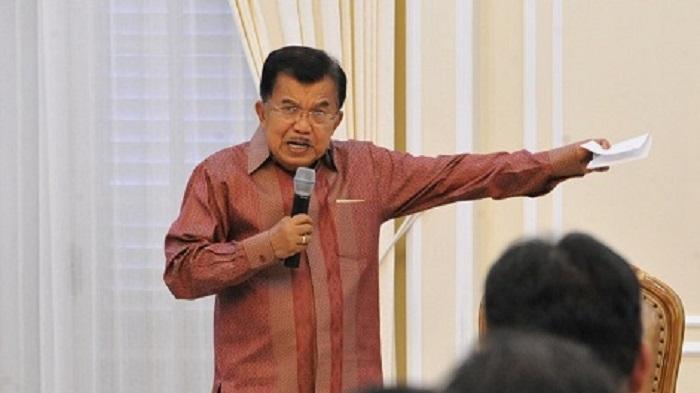 Terkait Pidato 'Berantem' Jokowi, JK: Jokowi Kan Tidak Katakan Hantam, Cuma Mempertahankan Diri