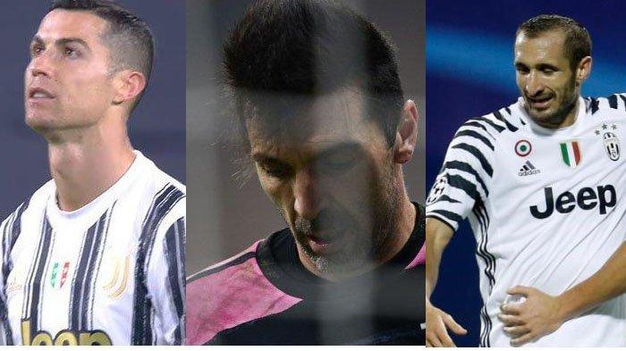 Cristiano Ronaldo, Buffon, Chiellini Masuk Daftar Jual, 5 Pemain ini Dipertahankan Juventus