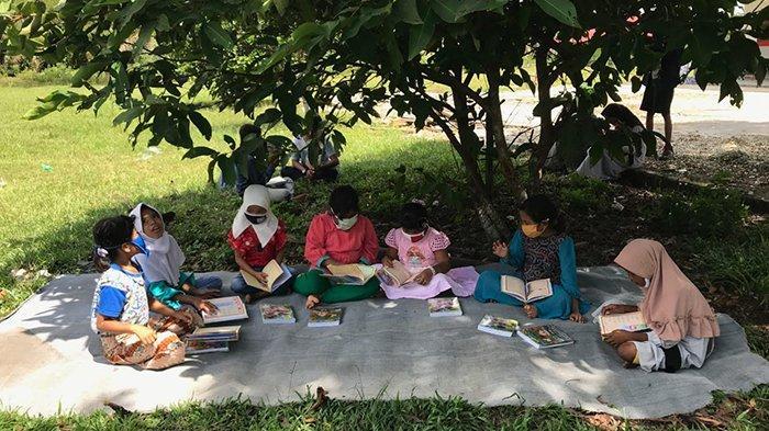 Longtai Terkesan APP Sinar Mas Ikut Mendukung Pendidikan Masyarakat Adat Sakai di Minas Riau