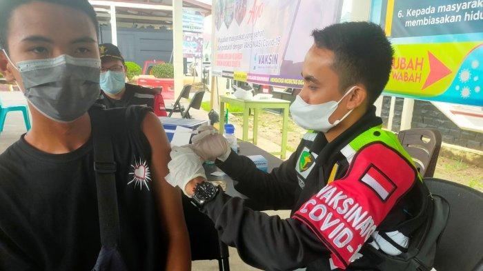 Kabar Gembira untuk Warga Indragiri Hulu, Polres Inhu Telah Buka Layanan Vaksinasi Covid-19 Anak