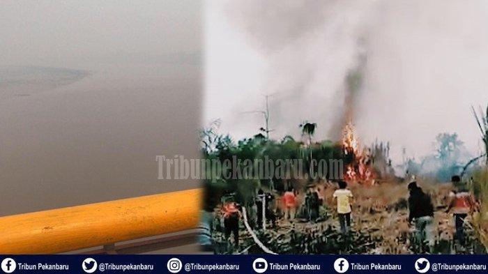 Kabut Asap di Riau, Asap Masuk Ruangan Kelas, Murid SDN Terpaksa Diliburkan, Orangtua Liburkan Anak