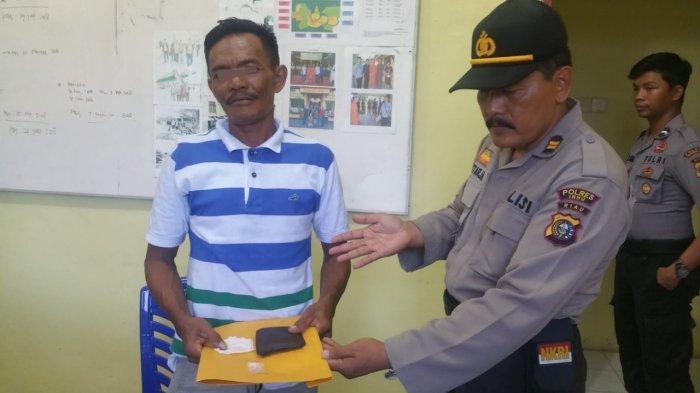 Kades di Inhu Riau Kedapatan Simpan Narkoba Dalam Dompet
