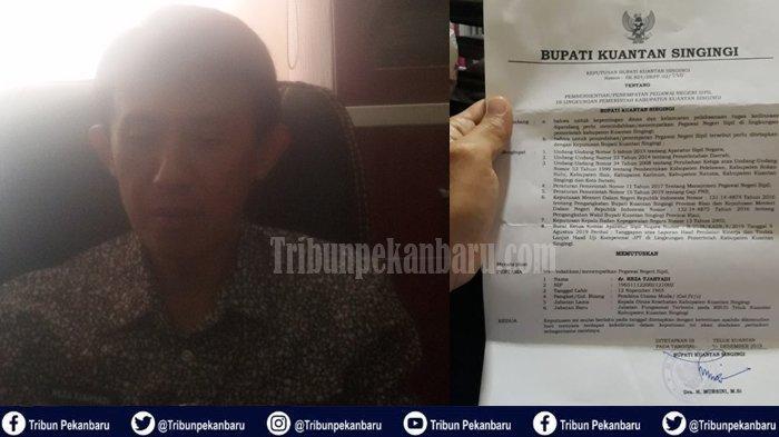 Kadis Kesehatan Dicopot Bupati Kuansing, Reza Tjahyadi Meradang, Nilai Keputusan Inkonstitusional