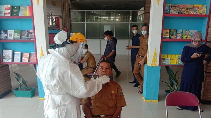 Kejar Target Testing dengan Swab Antigen, Satgas Covid-19 Siak Gilir Perkantoran Pemerintah