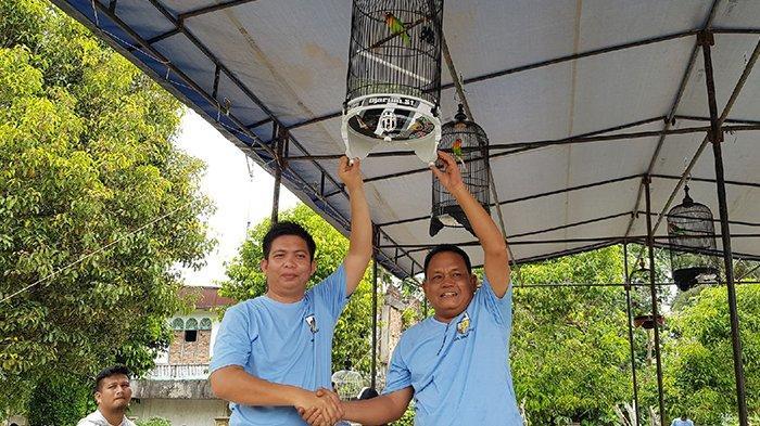 Kadisparbud Rohul Riau Buka Lomba Burung Berkicau KNPI Rohul Cup 1
