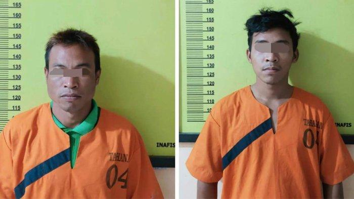 4 Tahun Buron, Abang Adik yang Membunuh Warga Peranap Berhasil Ditangkap di Bandar Lampung