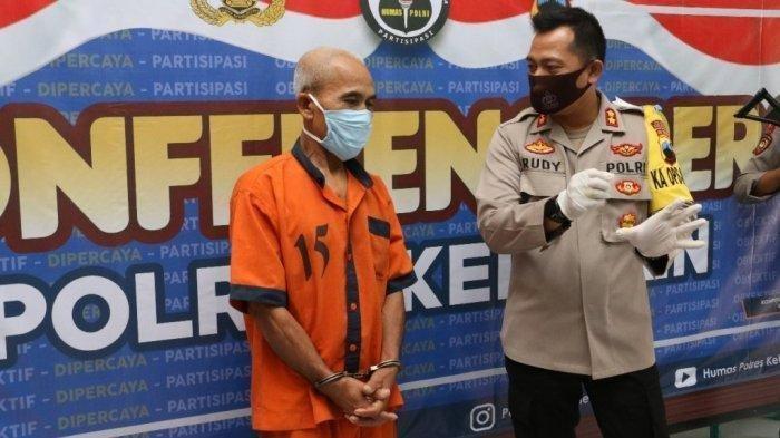 Seorang kakek (67) asal Kebumen ditangkap Polres Kebumen karena mencabuli tetangganya.