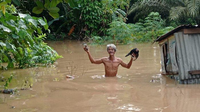 Hari Ini Banjir Rendam Ratusan Rumah Warga 2 Dusun di Kampar Mulai Surut