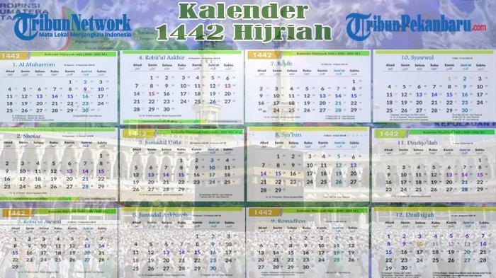 Kalender Hijriah 1442, Lengkap dengan Jadwal Puasa Ramadhan dan Lebaran Idul Fitri 2021