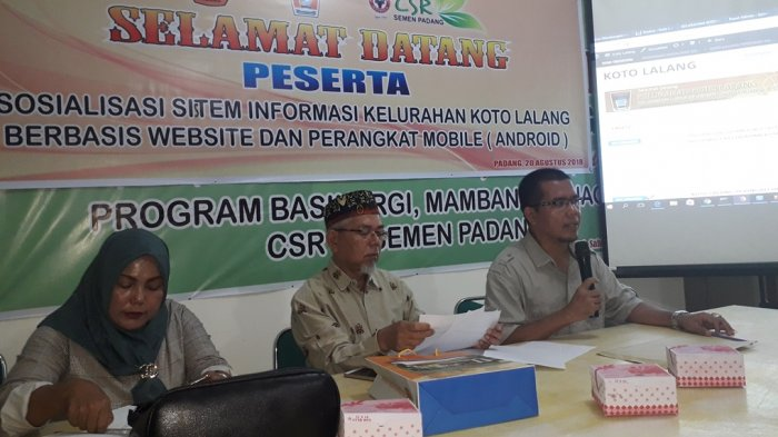 Kampung Cyber Koto Lalang Suguhkan Aplikasi Berbasis Website untuk Masyarakat