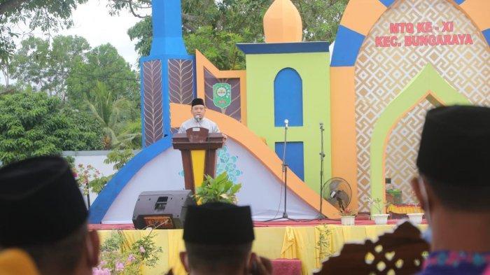Kampung Langsat Permani Juara Umum MTQ Kecamatan Bungaraya, Wabup Siak Imbau Jangan Jumawa