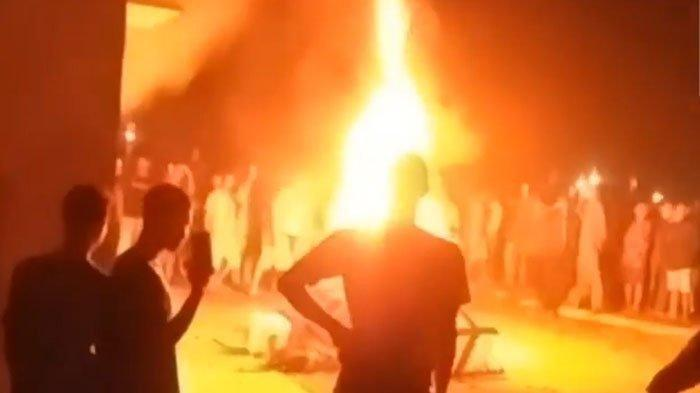 KRONOLOGI Polsek Candipuro Lampung Selatan Dibakar Warga: Kesal Aparat Lamban Menangani Begal