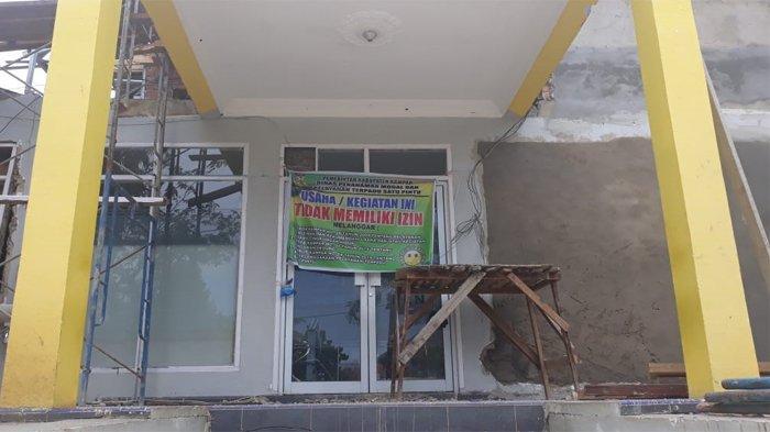 Kantor ULP PLN Bangkinang Disegel Pihak DPMPTSP Kampar, Ternyata Penyebabnya 2 Hal Ini