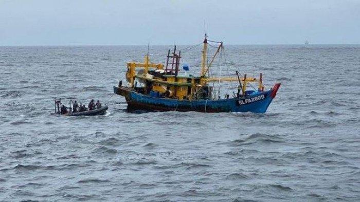 Tahun 2021 Baru 3Bulan,Sudah 6 Kapal Pencuri Ikan Ditangkap,4 Bendera Asing,Ini Upaya Pemprov Riau