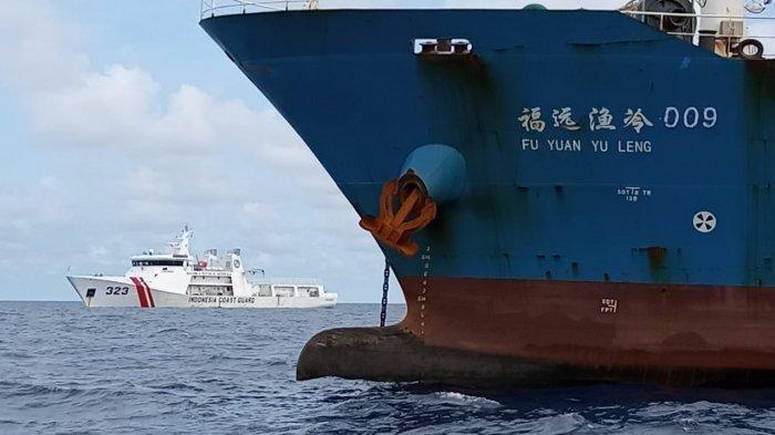 Kapal China Wara-wiri dan Ganggu Aktivitas Pertambangan ESDM di Natuna, Pemerintah Diminta Tegas